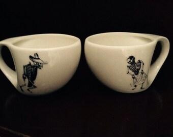 Chicano Art Coffee Mugs, Posada's Dancers CHEAP!!