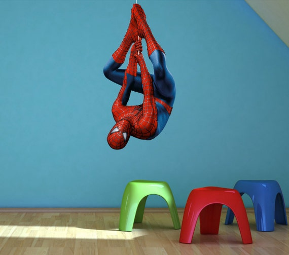 Spiderman Wall Sticker Mural Decal Decor Wall By