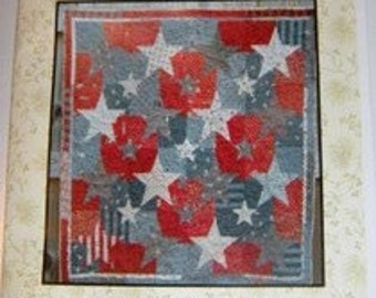 Patriot quilt pattern by Linen Closet Designs, Dawn Heese