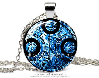 Time Lord Gallifreyan Doctor Who Inspired Necklace - Handmade