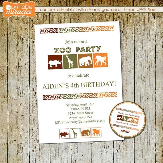 Zoo Birthday Invitations was beautiful invitations layout