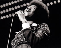 Aretha Franklin Poster, the Queen of Soul, Jazz, Pop, Gospel, R&B, Iconic Singer