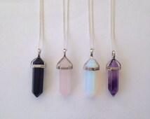 Crystal Point Quartz Necklace