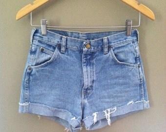 Vintage Wrangler Cutoff Jean Shorts