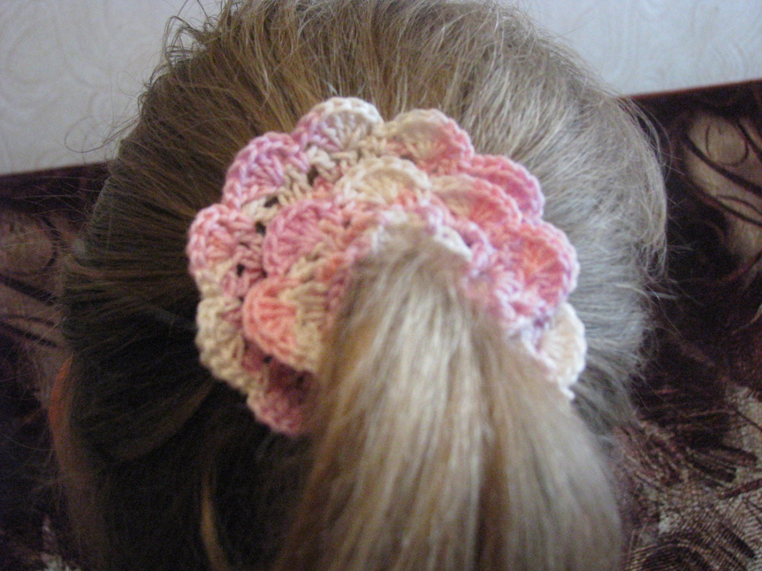 Crochet Hair Scrunchie : Crochet Hair Scrunchies Crochet Hair by Viktorijashandcrafts