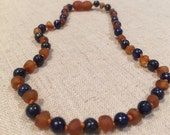 ADHD Baltic Amber Teething Necklace Baby Toddler Anxiety Stress temper seizures migraines