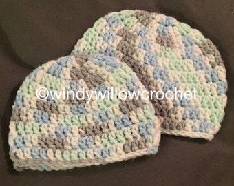 Preemie & Newborn Hats Pattern