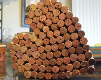 For the Love of Wine Cork Hearts