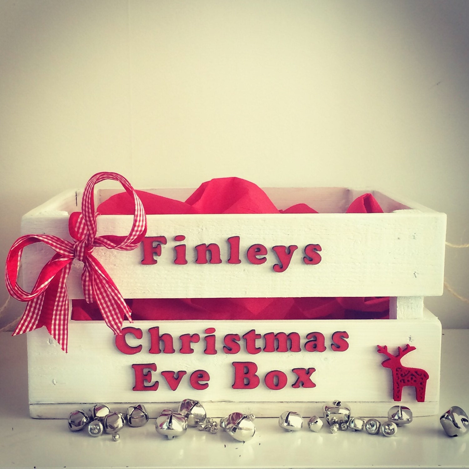 Christmas Eve Box Christmas Gift Wooden Crate By PerfectParcels1