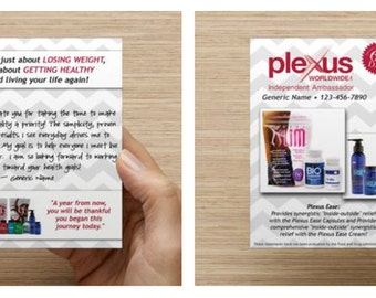 Plexus Personalized Product Cards