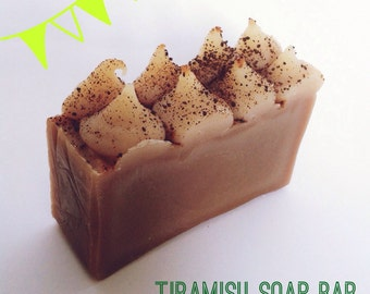 Tiramisu Soap Bar