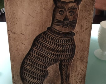 La Mirada California Metal Cat Wall Art Mold
