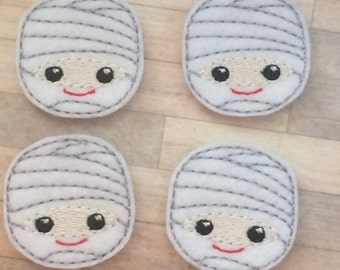 4 cute mummy felties