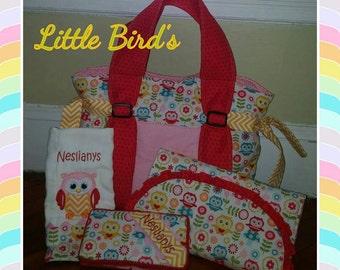 Diaper bag custom personalize