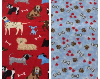 Fleece Medium Dog Blanket(D67)