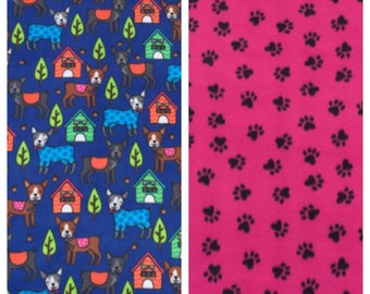 Fleece Medium Dog Blanket(D31)