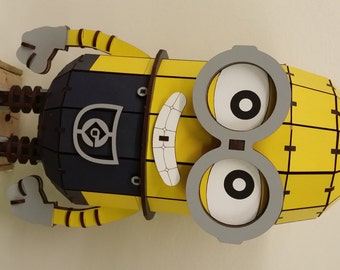 Painted Minion Model / Puzzle