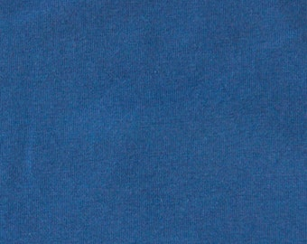 SALE!!! Knit fabric, royal blue knit fabric, cotton knit fabric, beanie fabric