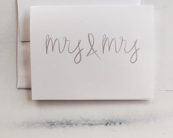 Mrs & Mrs Card (GC030101)