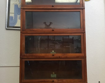 1940's Stacking Lawyer's Bookcase