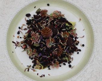 Crimson Forest Herbal Tea: organic berries & wild harvested gems
