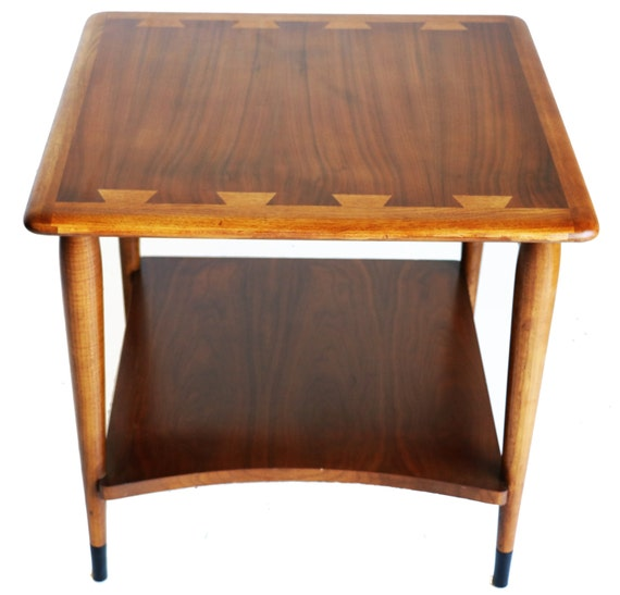 1950s Mid Century End Table By Lane Furniture: Lane Mid Century Table