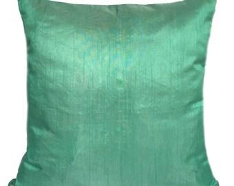 Solid Sea Green Pillow Plain Sea Green Pillow Sea Green Decorative Pillow Sea Green Accent Pillow Sea Green Pillow Cover Sea Green Throws