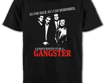 Goodfellas Gangster T-Shirt - De Niro, Pesci, Liotta Mob, All Sizes/Colours