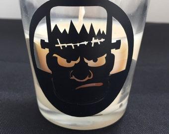 Frankenstein Candle Holder - Halloween Inspired