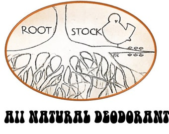 100% Natural Deodorant - Rootstock....A Hand-Crafted, Healthy Alternative