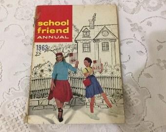 1963 school friend Annual