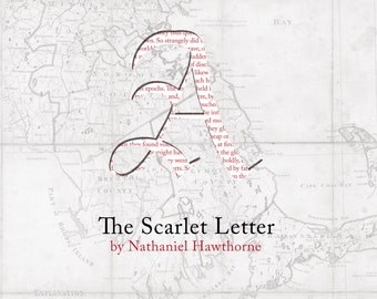 The Scarlet Letter Poster Print