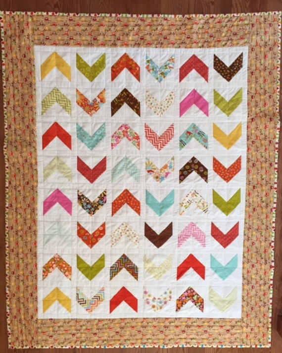 Lap Quilt, Fall Colors, Little Owls Quilt, Quiltsy Handmade