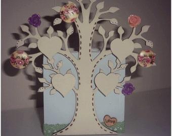 Family Tree Tealight Holder