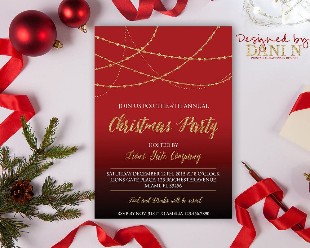 diy christmas party invitations 17 best ideas about office – Diy Christmas Party Invitations