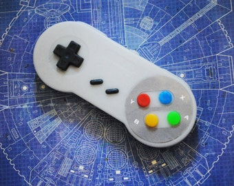 SNES Controler parody Soap: Retro and geeky! Handmade controller II soap - Retro Gamer, novelty