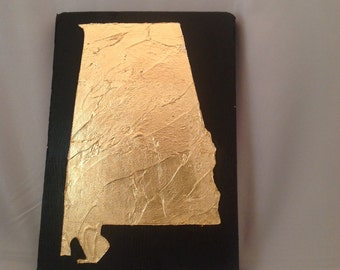 Gold Leaf State Art