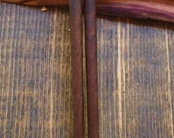 Solid Black Walnut Chopsticks, Handcrafted
