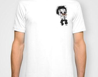 Edward Normalhands, tshirt, Edward scissorhands, geeky tshirt, geek, tim burton, burton fan, funny tshirt
