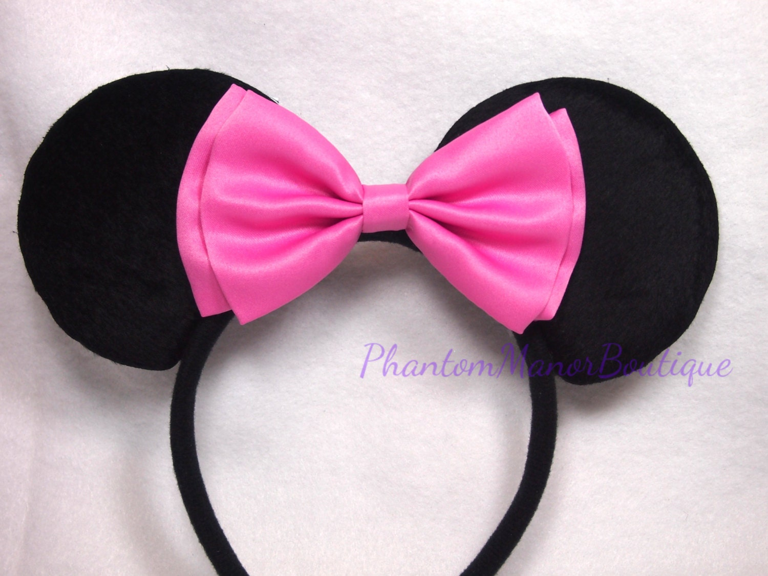 Pink Minnie Mouse Bow Template 30 25 Hot Pink And Black Minnie