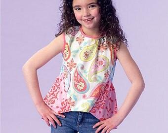 McCall's Pattern M7181 Girls' Tops