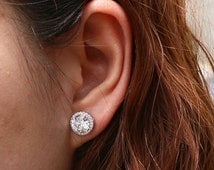 Popular items for cz stud earrings on Etsy