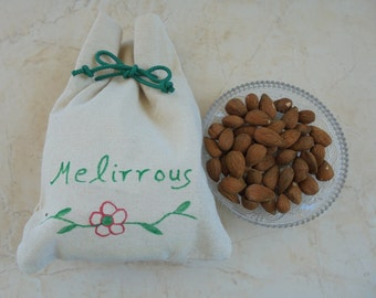 Whole Raw Almonds From Greece - Healthy Organic All Natural & Fresh Energy Snack!, 8.8 oz ( 250 gr)