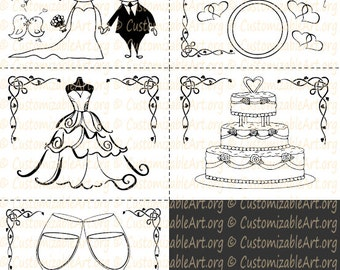 SET OF TWO: Wedding kid activity book kid coloring book kid