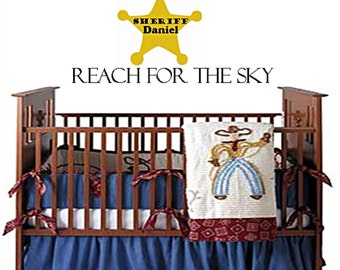 Sheriff nursery, cowboy nursery, western theme nursery, cowboy decor, western decor, sheriff decor, nursery decor, baby boy nursery
