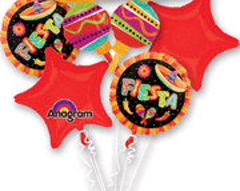 Fiesta Balloon Bouquet