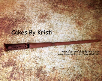 Fondant Harry Potter Wand (MADE TO ORDER)