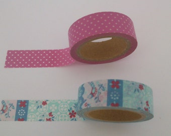 Set of 2 patterned tapes