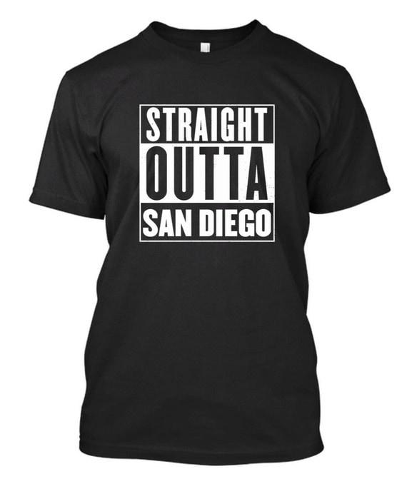 Straight outta san diego shirt compton by for San diego custom t shirts