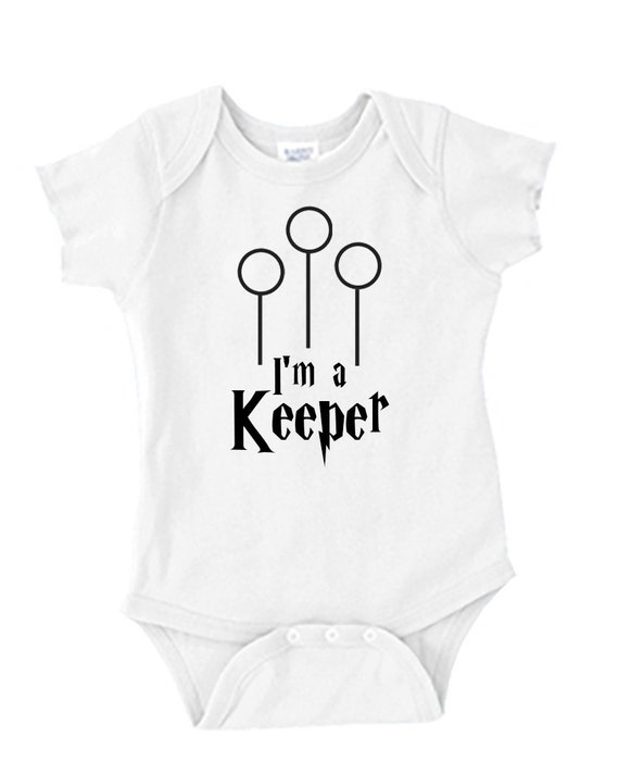 Harry Potter Baby Onesie - I'm a Keeper